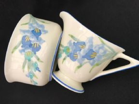 Royal Doulton DECO milk jug and sugar bowl set